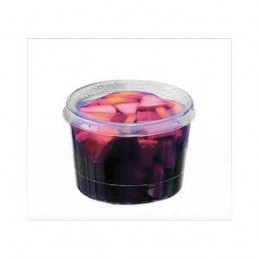 Verrine jetable Bodega couleur cristal