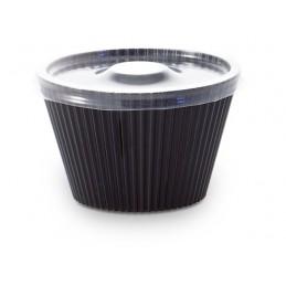 Verrine jetable Graphic, coloris noir, 7cl