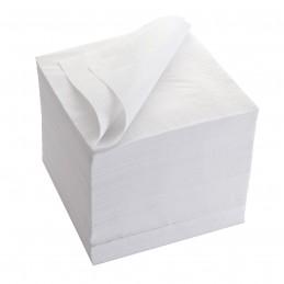 Serviette papier ouate blanc de 33cm par 100