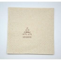 Serviette papier écologique 40x40cm par 50