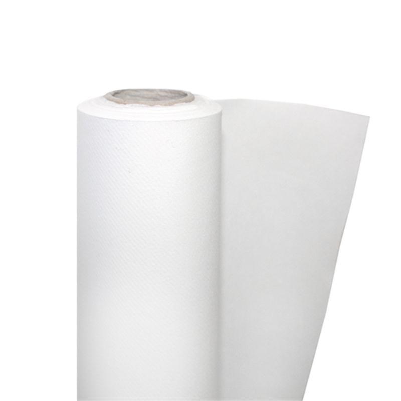 nappe papier non tissé blanc de 25x1,18m