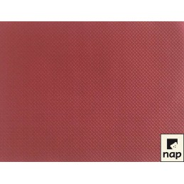 Set de table papier bordeaux par 10