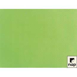 Set de table papier vert anis par 10