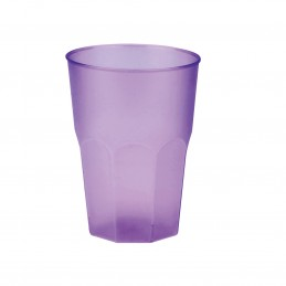 Verre en plastique cocktail lilas 35cl par 20