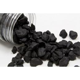 Pierres colorées noir