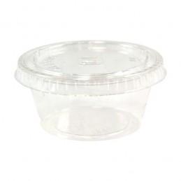 Pot en sauce en plastique 6cl par 100