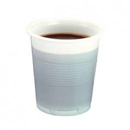 Gobelet à café jetable blanc 10cl par 100