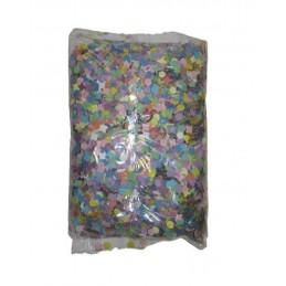 Sachet de confettis multicolores 500 grammes