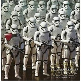 "Serviette papier Star Wars ""Stormtrooper"" par 20"